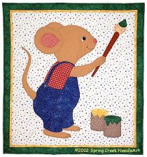 Marty Mouse Quilt Pattern