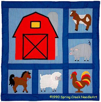 On the Farm Quilt Pattern