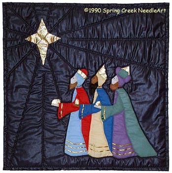 We Three Kings Quilt Pattern
