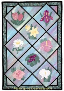 Pocketful of Posies Quilt Pattern