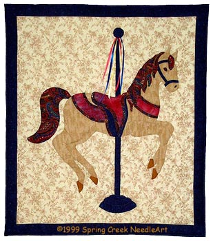 Carousel Horse Quilt Pattern