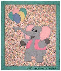 Eleanor Elephant Quilt Pattern