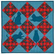 Quilt Cats Quilt Pattern