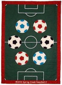 Soccer Quilt pattern