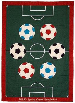Soccer Quilt pattern