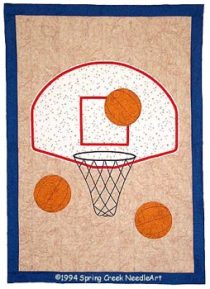 Basketball Quilt pattern