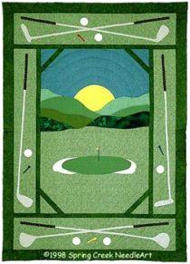 Golf Quilt pattern