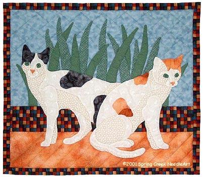 Feline Friends Quilt Pattern