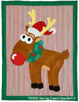 Rudolph Quilt Pattern