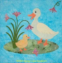 Just Ducky Wall Quilt Pattern