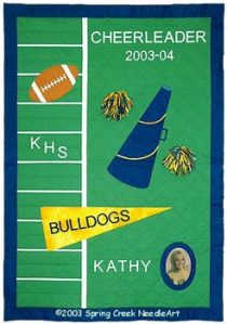 Cheerleader Quilt pattern
