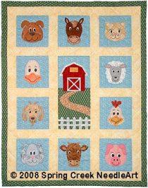 Farm Fresh Faces Quilt Pattern