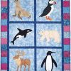 Awesome Arctic Animals Quilt Pattern