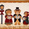 Caroling Bears Quilt Pattern